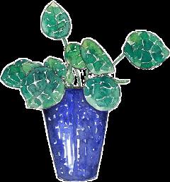 plant decor leaf drawing freetoedit