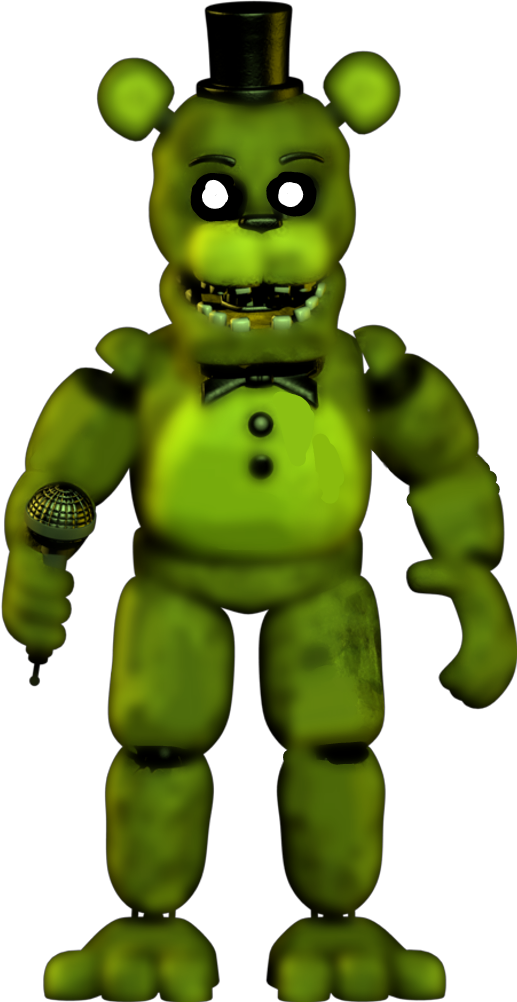Unwithered Golden Freddy - Image by Jaron