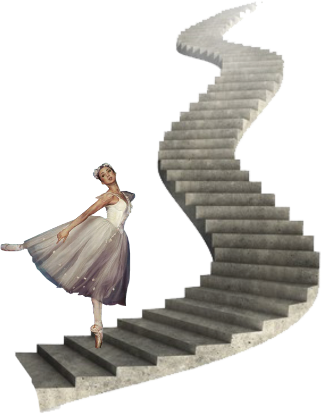 #ftestickers #balletdancer #stairs