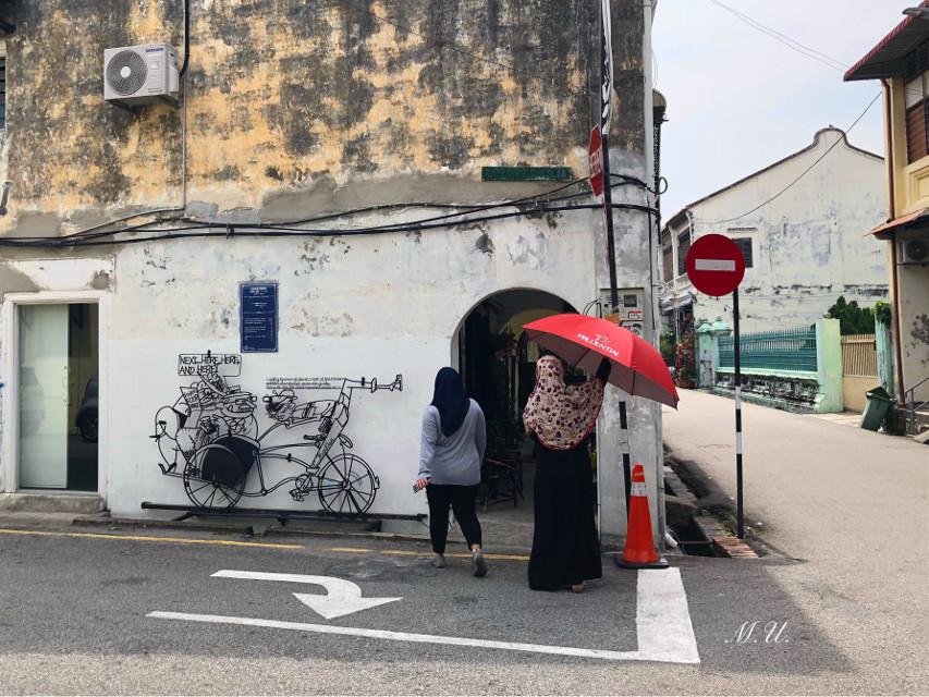 #street #Penang #Malaysia  #Georgetown