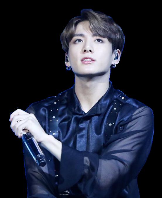 Jungkook Kookie Bts Kpop Handsome Singer Black Blue Lac