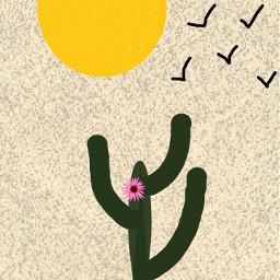cactus cactuslover yellow green black freetoedit dccactus