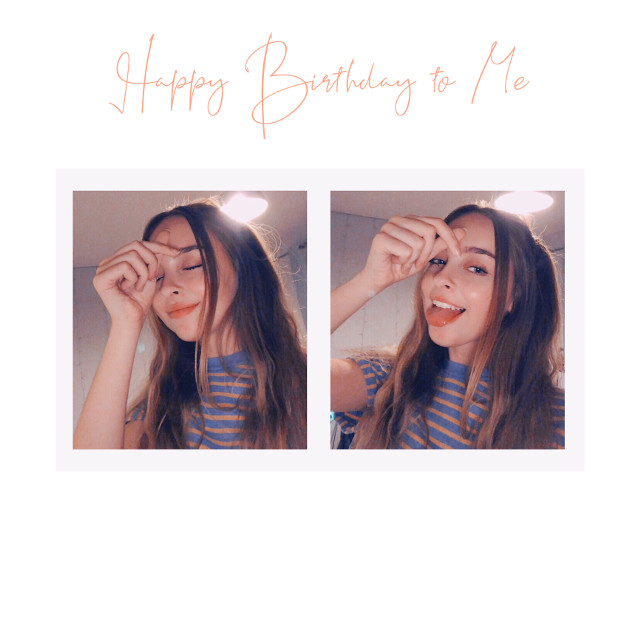 Its my birthdayy!!!! 🎉  {i am so cringy sorry 😂}     I will try to post later 💕         #birthday #cringe #me #face #happybirthdaytome 😂🤷🏼‍♀️