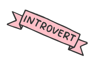 Image result for introverted clipart
