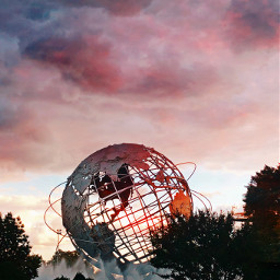 pccolorfulsunsets colorfulsunsets freetoedit worldsfairpark queens