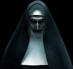 thenun nun horror halloween freetoedit