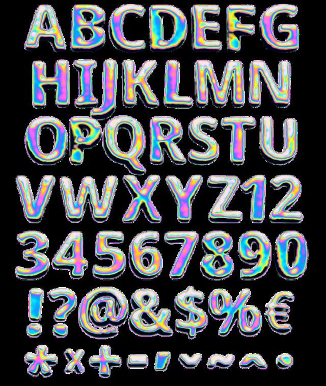 #bubble #letters #soap #bubbles #transparent #letters #alphabet #font #holographic #freetoedit