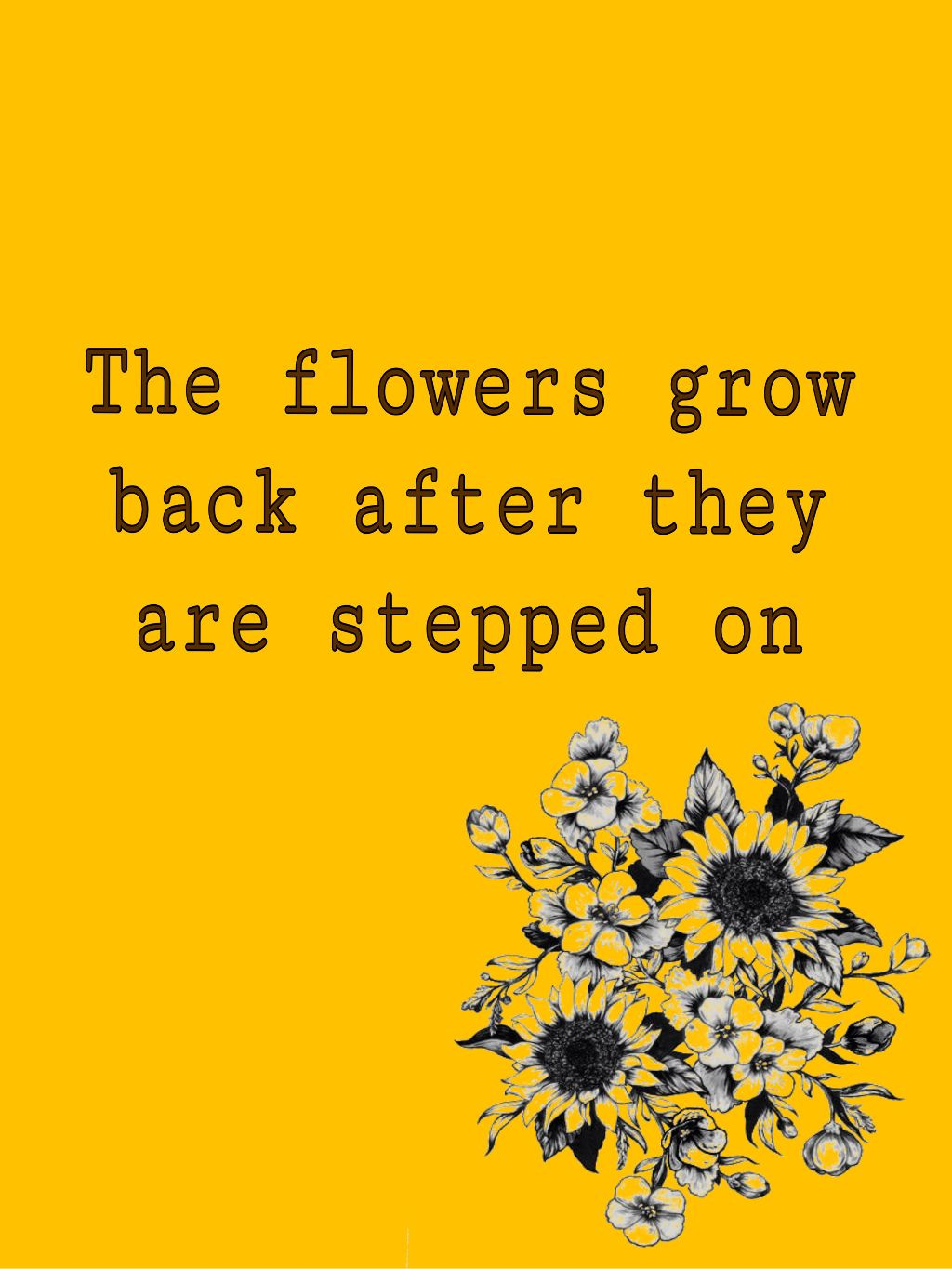 Freetoedit Aesthetic Yellow Flower Quotes