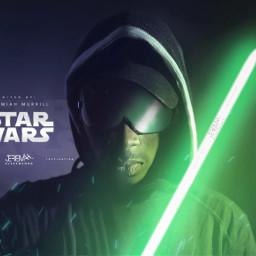 starwars jedi lightsaber green shades