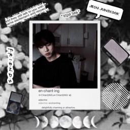 bts jungkook kpop loveyourself gray black aesthetic freetoedit