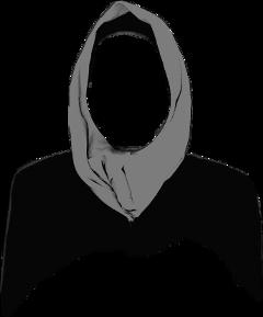scsilhouette silhouette hijab