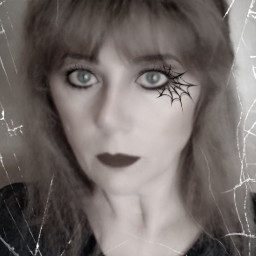 freetoedit hallowen woman libra octoberphotoaday