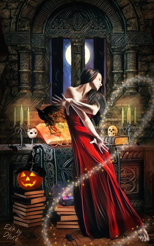 #freetoedit, #Spookify, #halloweenfun