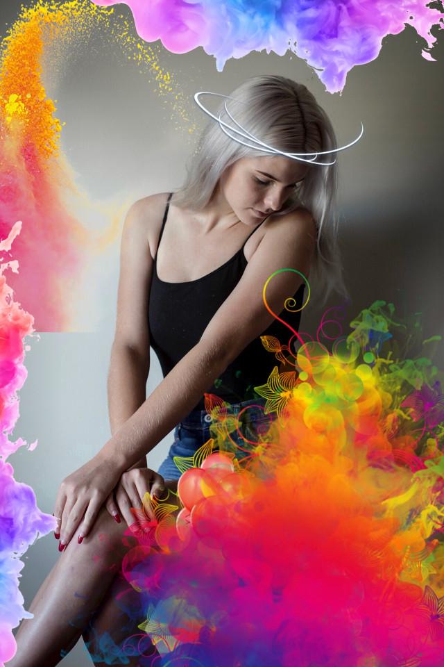 #colorsplash #aesthetic  #freetoedit