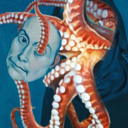 ircfineartfridaypp fineartfridaypp freetoedit creepy tentacles scary