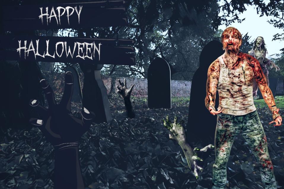 Just a little spooky edit #stickers #spooky #graveyard #Halloween #freetoedit