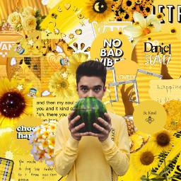 freetoedit danielseavey daniel seavey yellow
