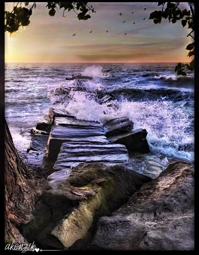 #freetoedit Coastline @ Huntington Beach on Lake Erie in Bay Village, Ohio  #shore #nature_lovers #beautyinnature #naturepic #beach #coast #lake #lakeerie #sea #sunrays #wave #instasummer #water #lakeviews #all_sunsets #prilaga #seaside #naturalbeauty #seashore #beachwaves #dusk #sunset #waterfoam #waves #sky #lakeside #blue #beaches #lakelife #sunnyday #beachlife @akenzik