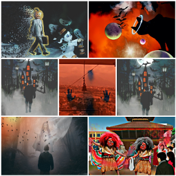 freetoedit remixit holloween scary collage cchalloweenmoodboard