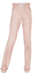 basic track pants clothes pink
