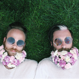 flowerongrass beards