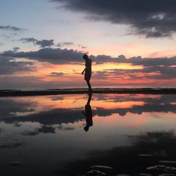sunset twillight reflectionsofwater nature photography freetoedit