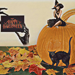 freetoedit happyhalloween halloween happyhalloween2018 irctheperfectpumpkin