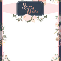 freetoedit savethedate wedding invitation invite