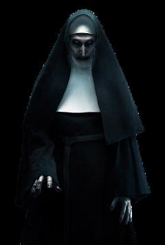 thenun nun horror creepy freetoedit