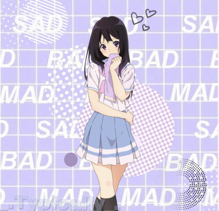 anime animegirl aesthetic -First edit on this Profile ...