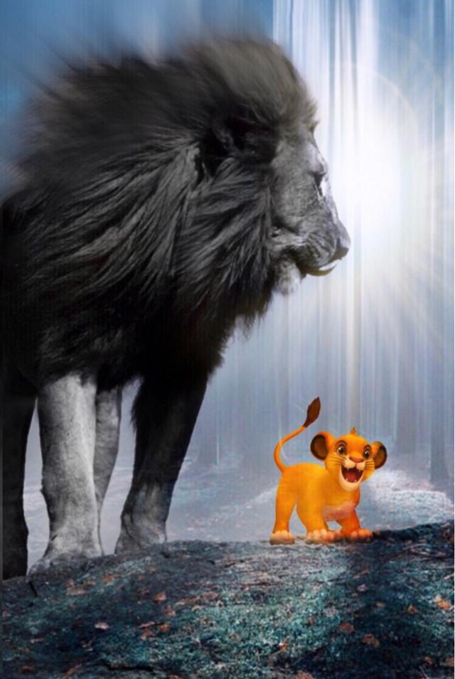 #freetoedit #interesting #madewithpicsart #lionking #lion #myedit #disney