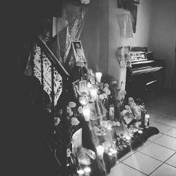 cultura altardemuertos tradicionmexicana altares blackandwhite