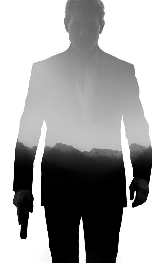 🔫🤫 #007 #agent #mountains #snow #minimalism #man @picsart