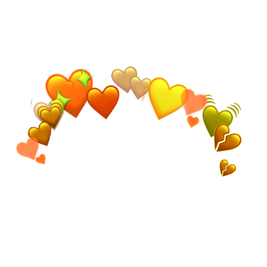 emoji emojis hearts heart emojicrown emojicrowns heartc