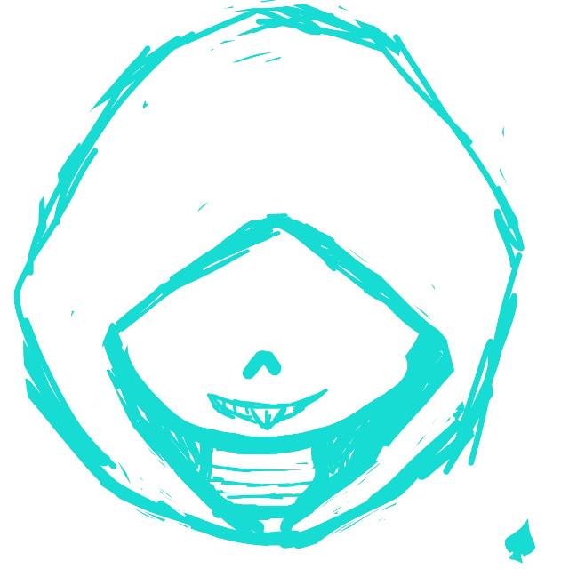 #DELTARUNE #UNDERTALE #sans  #lancer  #freetoedit