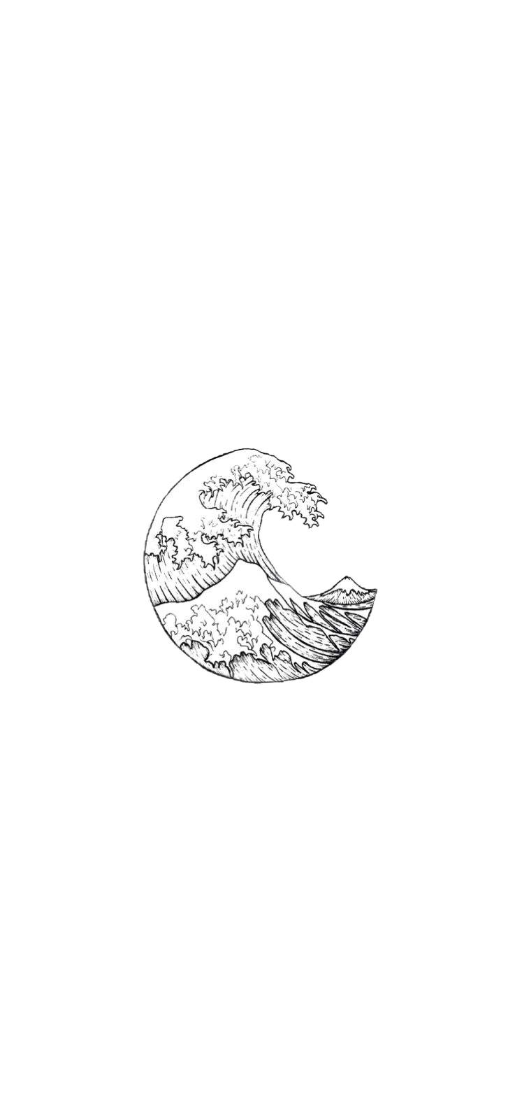 20 Fantastic Ideas Aesthetic Tumblr Wave Drawing