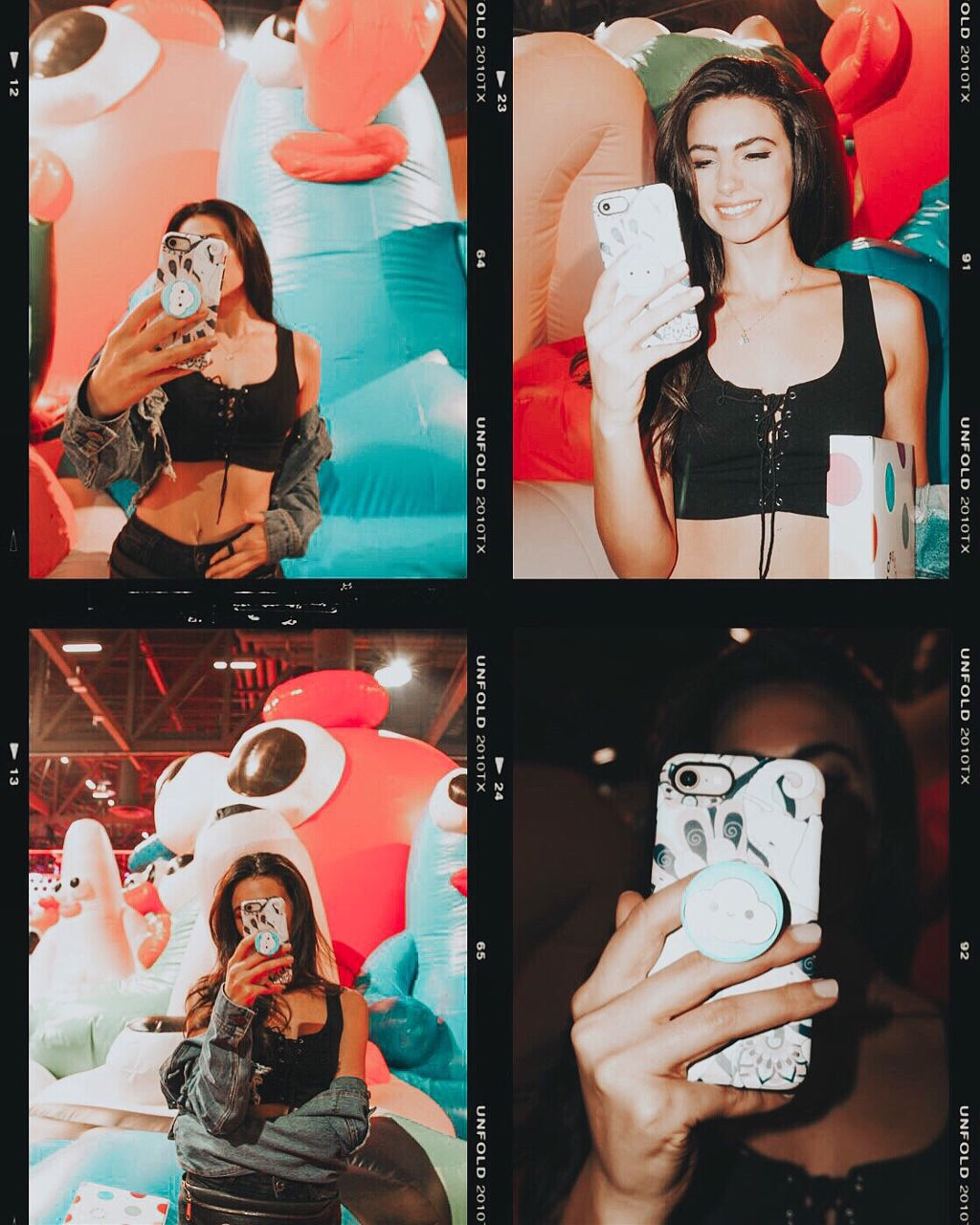 #ComplexCon at the @popsockets Poptivism activation where they are making the world a better place! 🌎✨ #Poptivism is an app where you can buy #PopSockets grips and they donate HALF of each sale to a charity of your choice. It's activism at your fingertips, which you know I'm super passionate about and love supporting 💞. Thank you @popsockets for making a positive and meaningful change! I hope more brands get inspired to take positive action. #Friendswithyou   #freetoedit #california #blogger #iphone