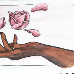 traditionalart myart2018 inktober2018 originalart rose