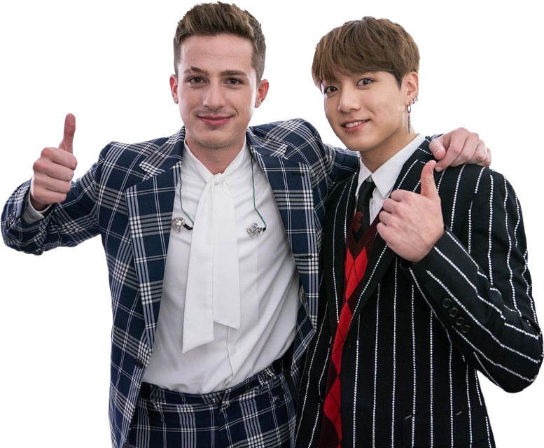 JUNGKOOK X CHARLIE PUTH | GIVE CREDITS IF USED   🚫 don't copy my stickers to your page 🚫  #jungkook #charlieputh #bts #kpop #bangtan #bangtanboys #jeonjungkook #freetoedit