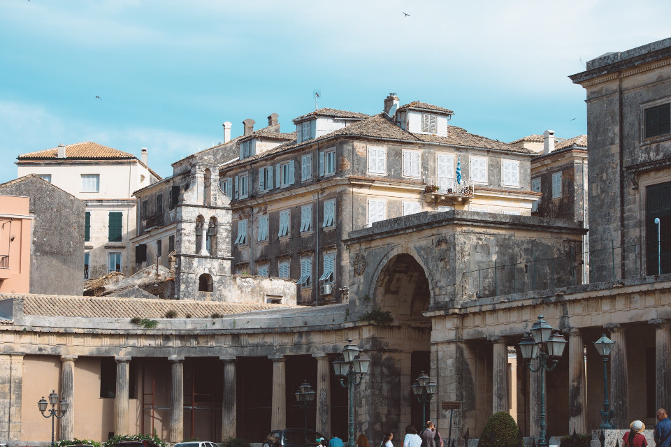 I like old stuff, especially old buildings, when I stand in front of them, they always seem to be whispering a story to me in the wind, shh...just listen! #freetoedit #corfu #buildings