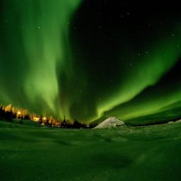 freetoedit polarlights northernlights finland aurora