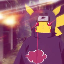 itachi pikachu akatsuki rogue pokemon