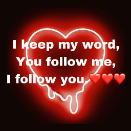 follow4follow promiseskept freetoedit