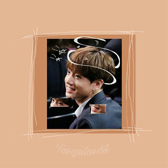 just like this 👋💓 this a try 💁😂 #jungkook #bts #bangtanboys #bangtansonyeodan #kpop #edit #orange #stars #smile #asian #korean #kpopedit #btsedit #btsjungkook #jk