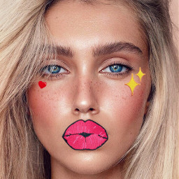 freetoedit patches sticker patch lips
