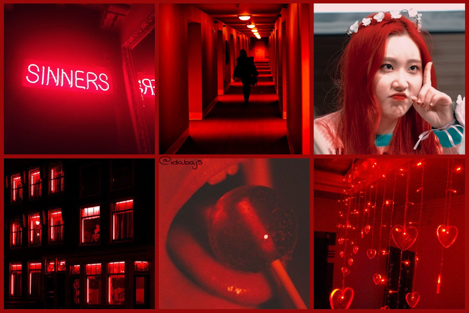 #collage Momoland's Jewel 🤗❤️  #collage #tumblr #red #momoland #freetoedit