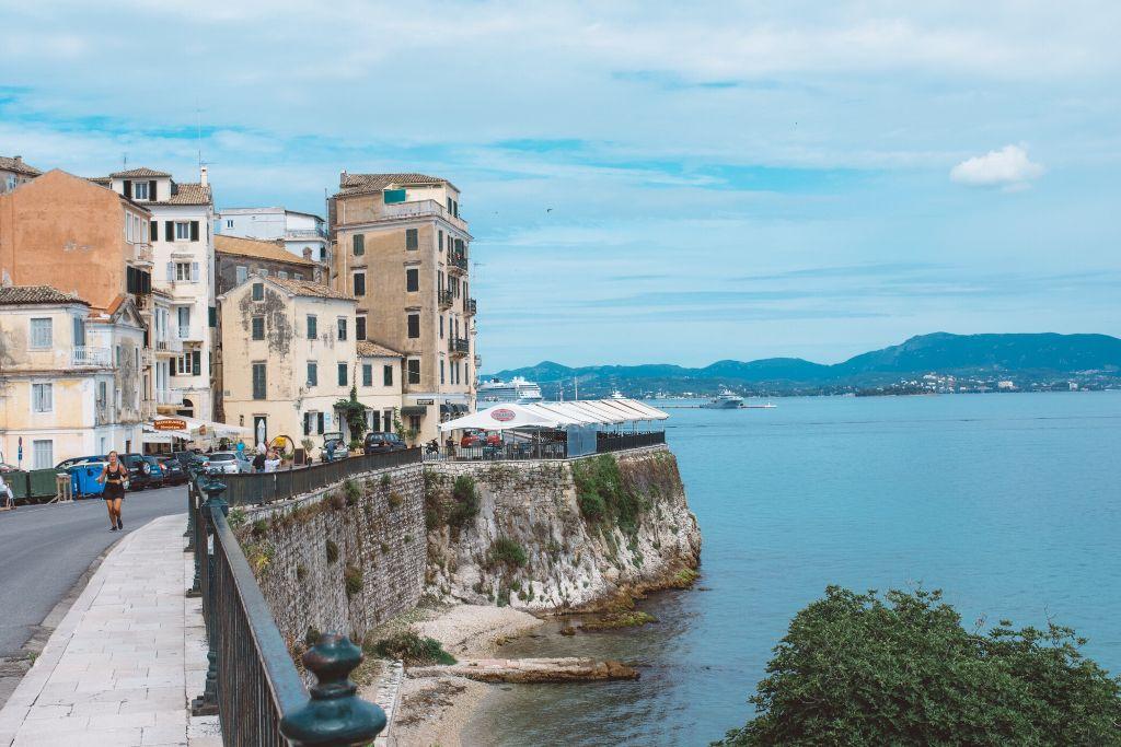 It was a beautiful walk along the shore. #corfu
