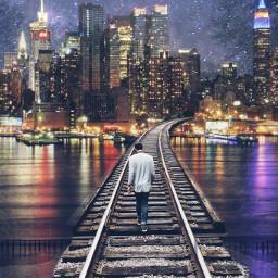railroadtracks freetoedit railroadtrack cityscapes