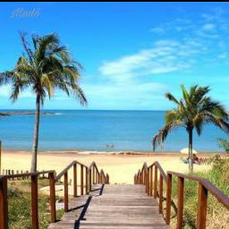 freetoedit dialindo amanheceremumlocalassim praia céu&mar pcbeautifuldays