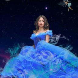 freetoedit cinderella disney princess fairy